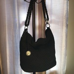 The Sak Crocheted Tote w/Removable Rope Strap